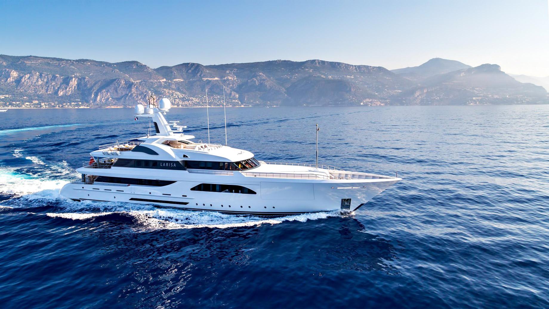 LARISA Superyacht – Dutch Built Quality and Spectacular Luxury Design
