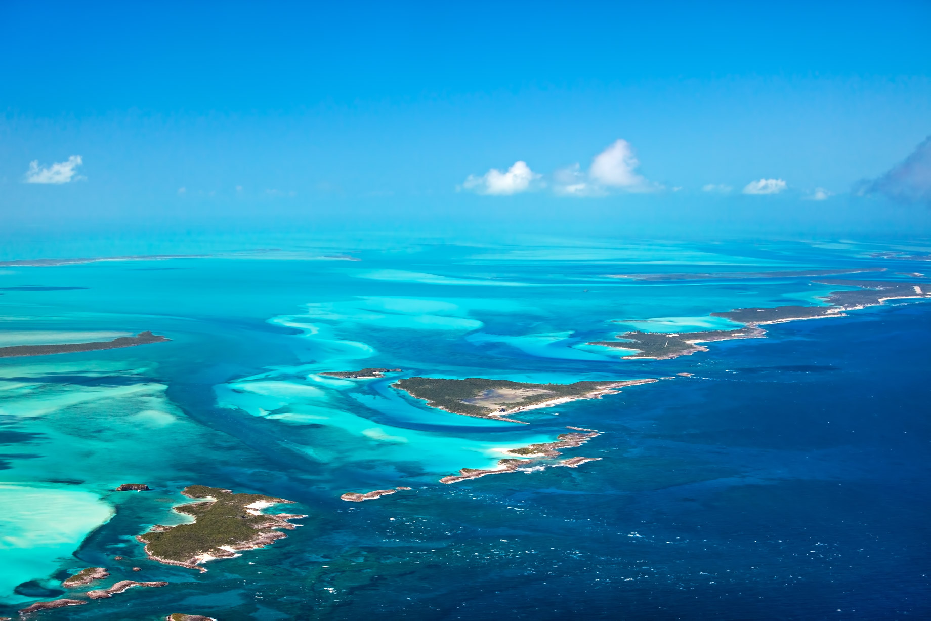 The Islands of the Bahamas - Aerial View