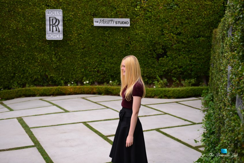 Elle Fanning - Rolls-Royce Hosts The Variety Studio Event in Beverly Hills, California