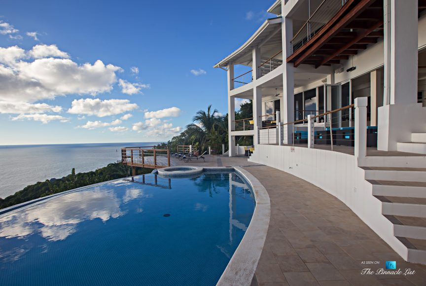 Akasha Luxury Caribbean Villa - Cap Estate, St. Lucia - Infinity Pool and Hot Tub View - Luxury Real Estate - Premier Oceanview Home