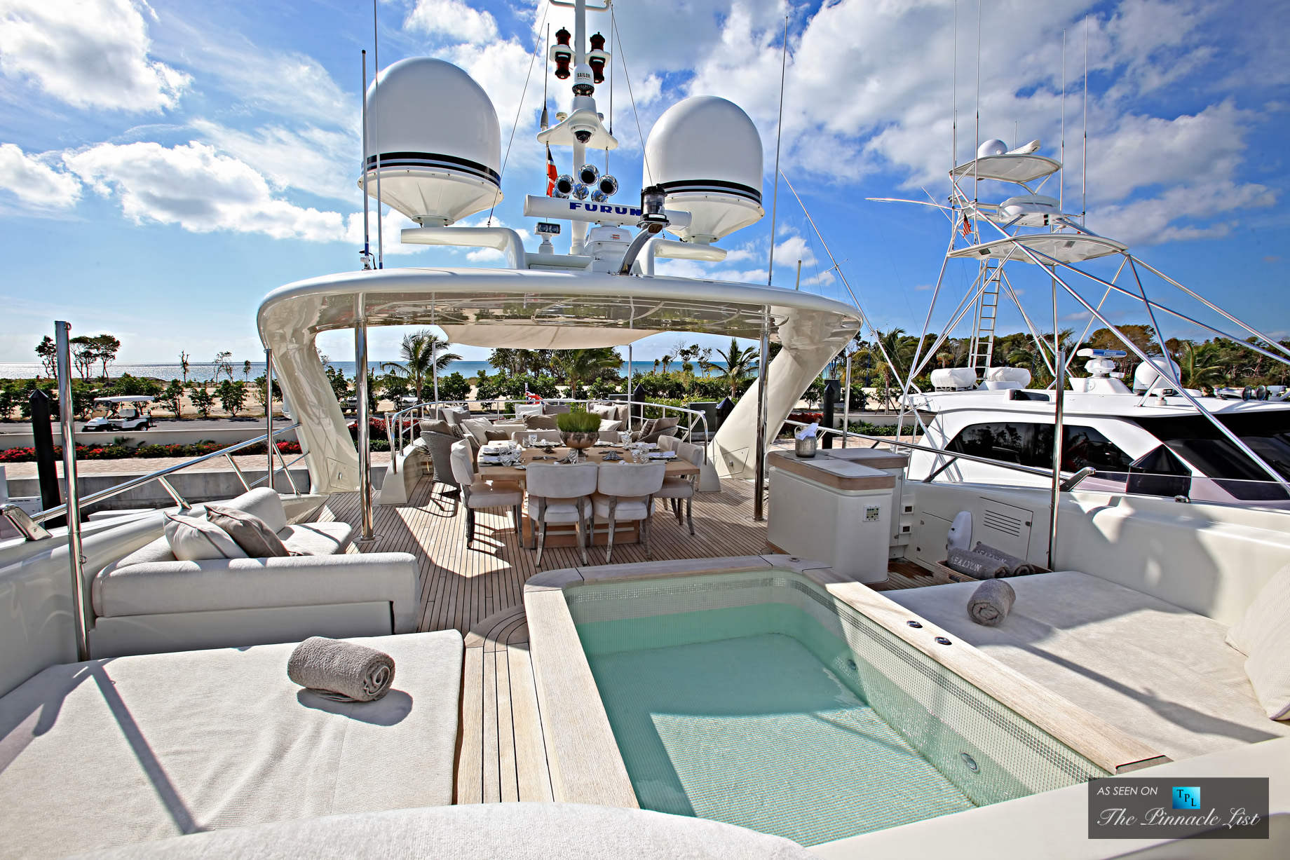 Sealyon Superyacht - Charter Availability for Caribbean and South Pacific