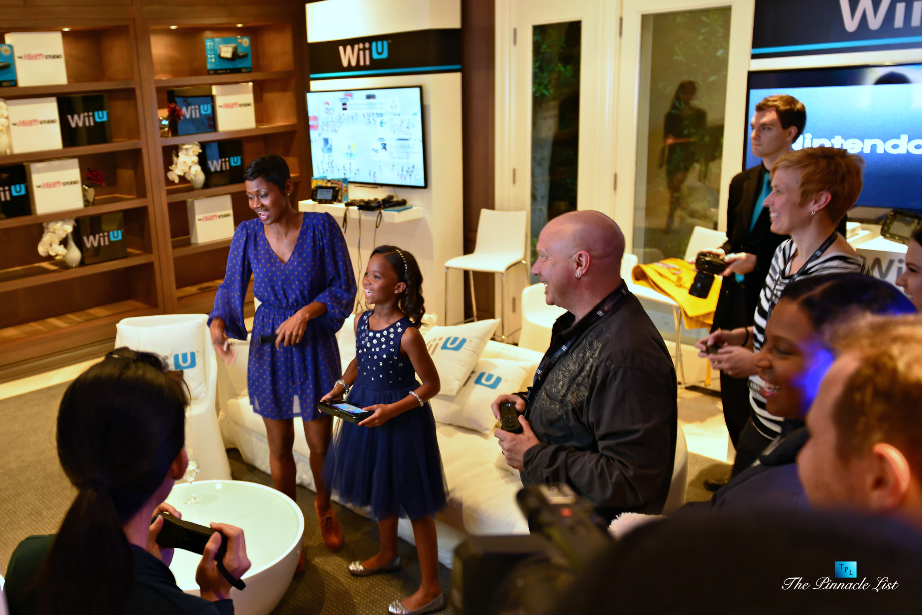 Emayatzy Corinealdi – Quvenzhane Wallis – Rolls-Royce Hosts The Variety Studio Event with Nintendo Wii U in Beverly Hills, California