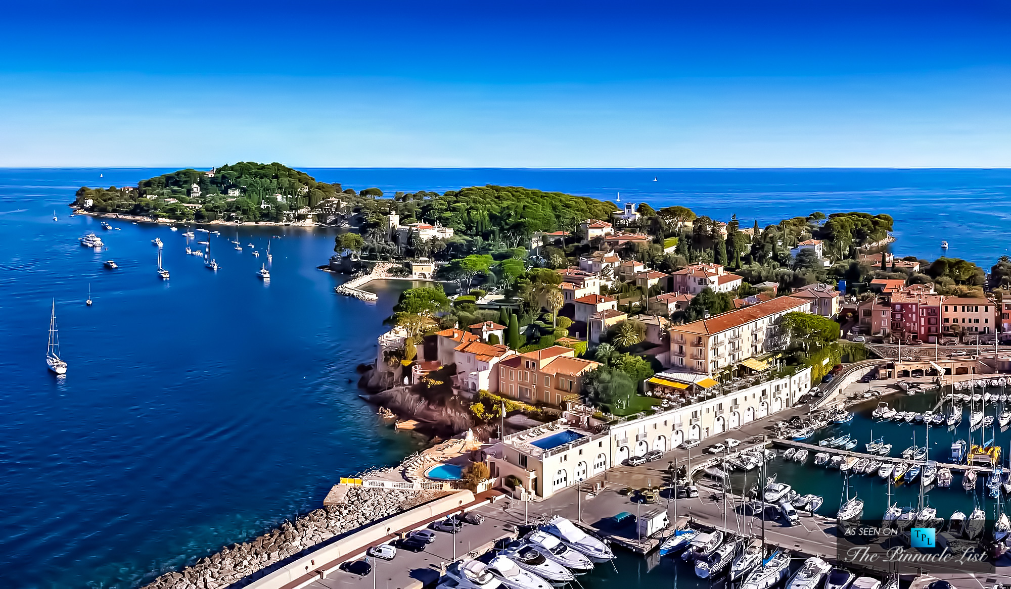 $146 Million - Villa on Claude Vignon Avenue, Saint-Jean-Cap-Ferrat, France - Exceeding $100 Million - The 5 Most Expensive Homes Sold in the World