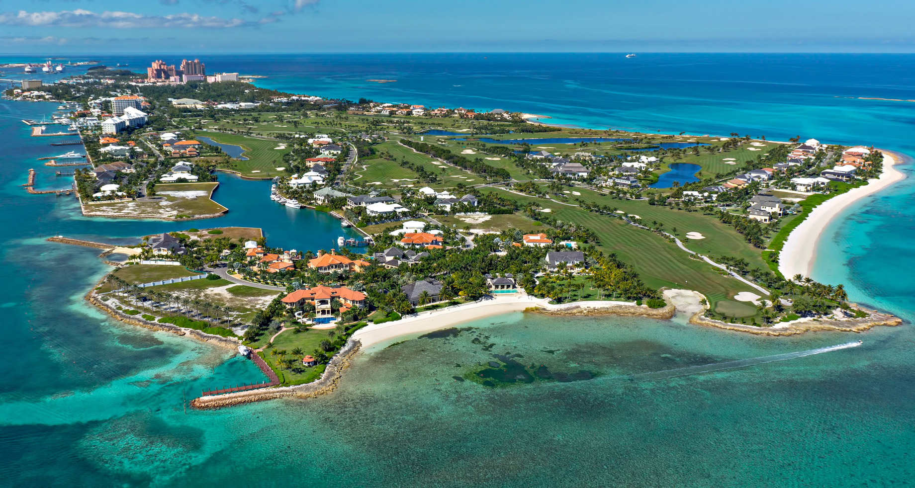 Luxury Homes on Paradise Island in the Bahamas