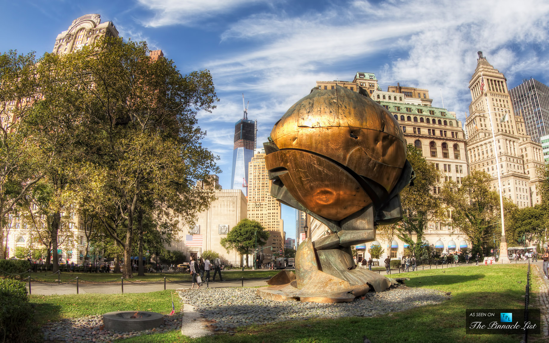The Sphere at Battery Park - New York, NY 10004, USA