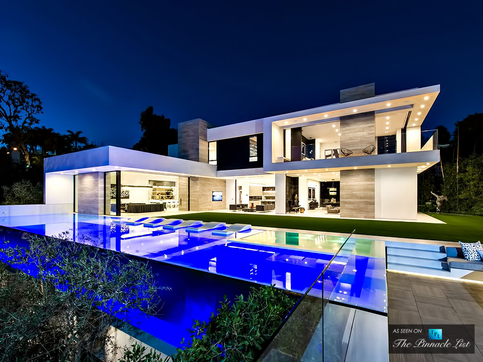 Glamorous Gallery-Style Design at 9945 Beverly Grove Drive, Beverly Hills, California