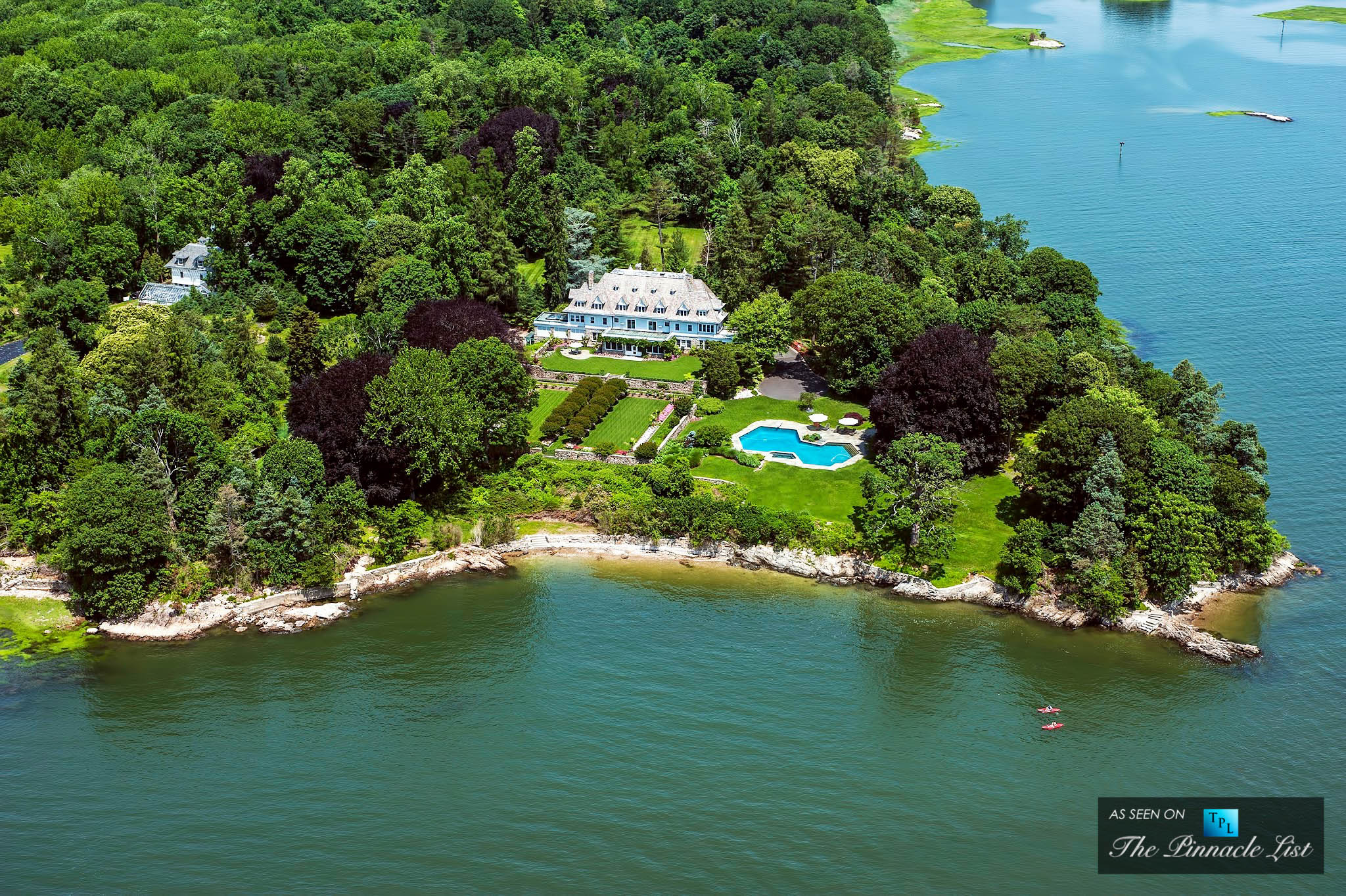 $120 Million - Copper Beech Farm, Greenwich, CT, USA - Exceeding $100 Million - The 5 Most Expensive Homes Sold in the World