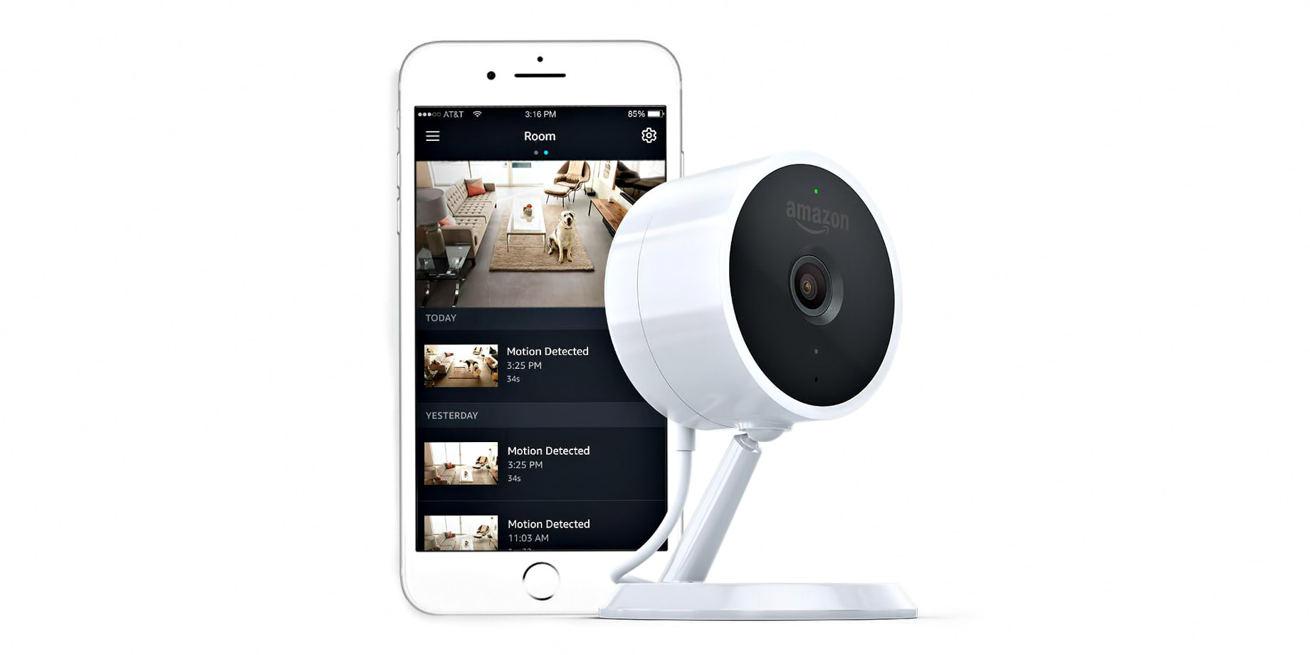 Amazon Cloud Cam - Four of the Best Smart Home Security Products Available Today