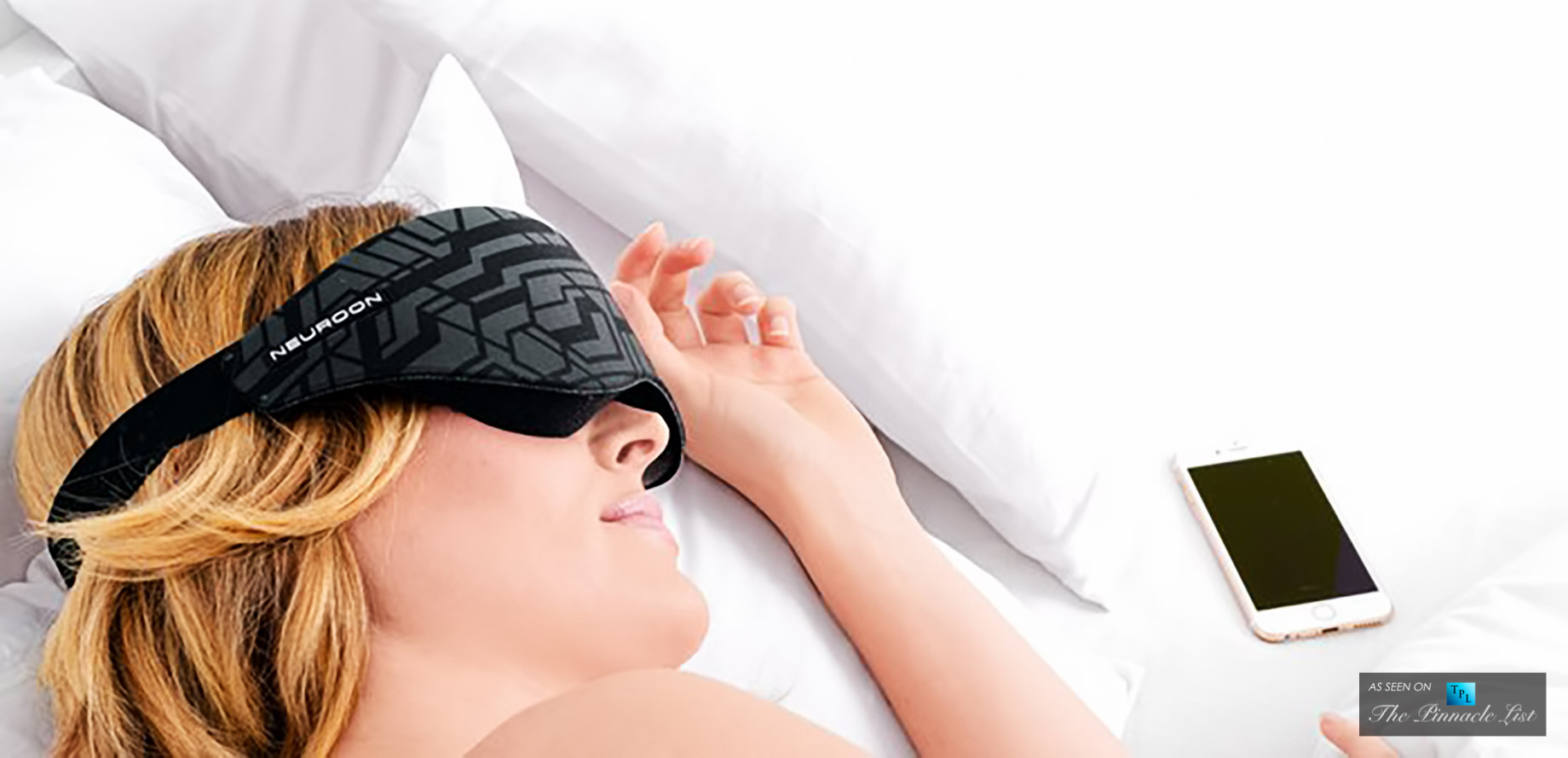 Neuroon Sleep Mask - 7 Must Have Wearable Tech Luxury Brands