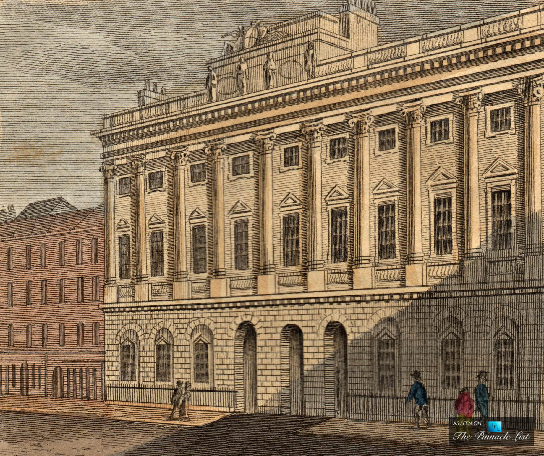 The Story Behind the Walls - Somerset House at the Strand in London