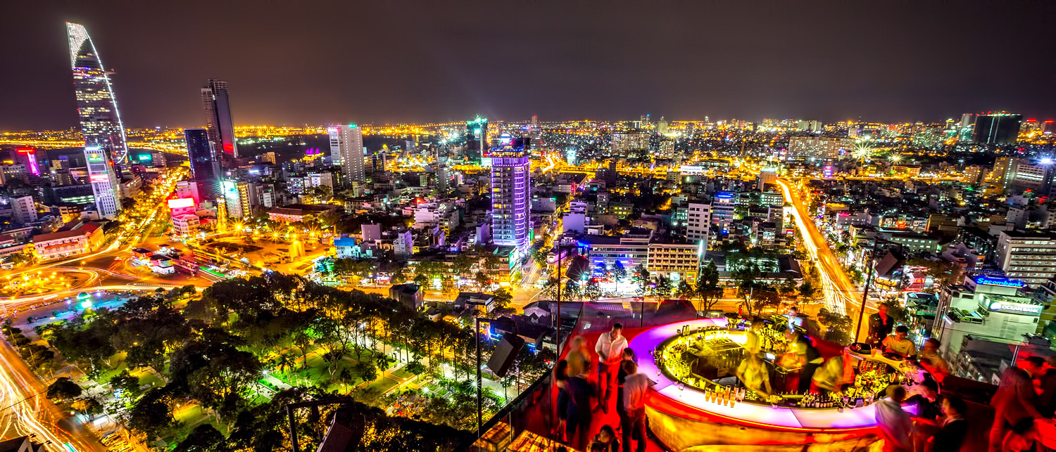 Ho Chi Minh City, Vietnam - Chill Skybar - Best Exotic Locations for Remote Workers to Consider a Second Home