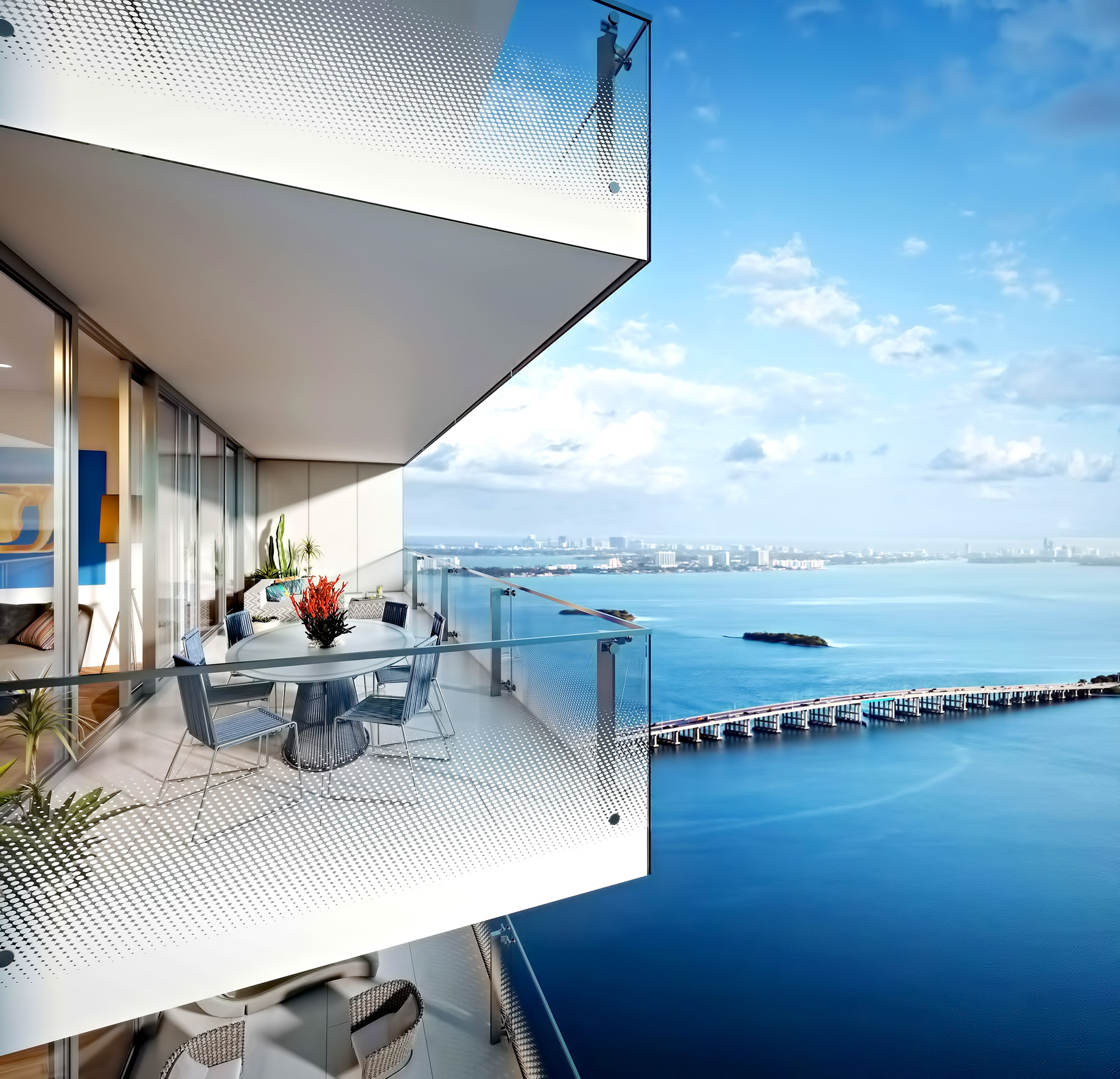 Missoni Baia Balcony Panoramic Views - 777 Northeast 26th Terrace, Miami, FL, USA