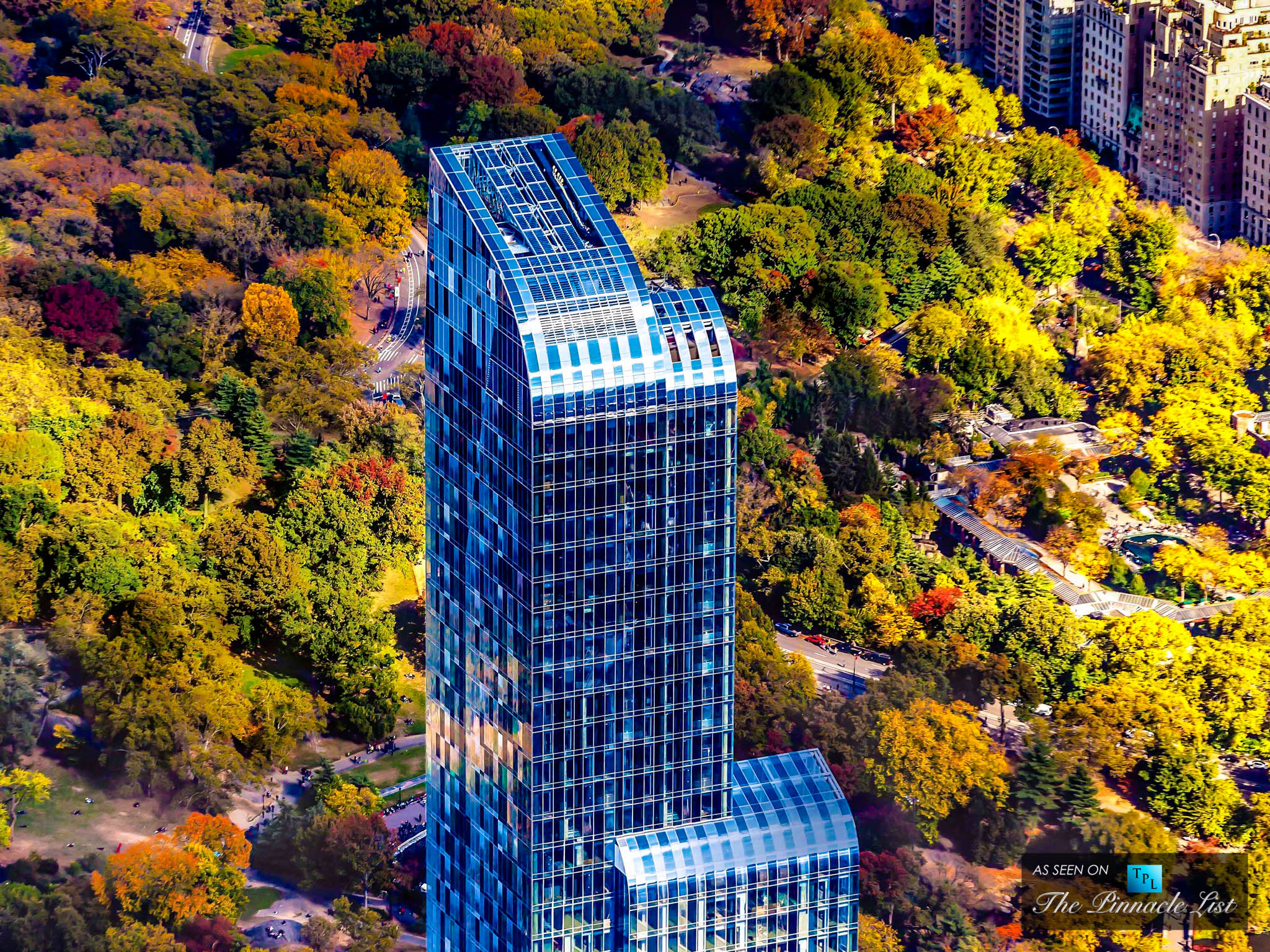 $100.5 Million - One57 Penthouse Unit 90, New York, NY, USA - Exceeding $100 Million - The 5 Most Expensive Homes Sold in the World