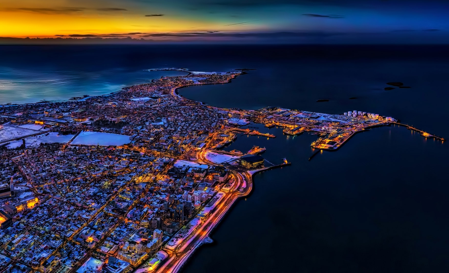 Reykjavik, Iceland - Best Exotic Locations for Remote Workers to Consider a Second Home