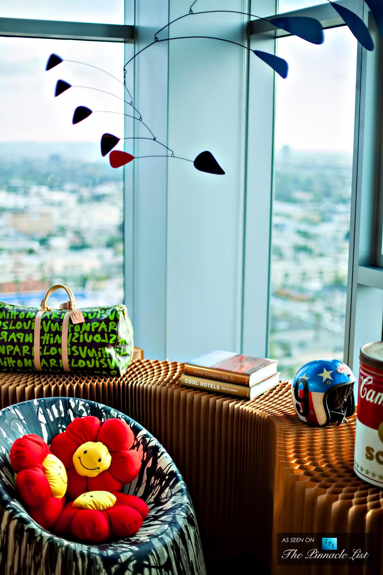 Eva Eclectic Los Angeles Penthouse Design by Maxime Jacquet