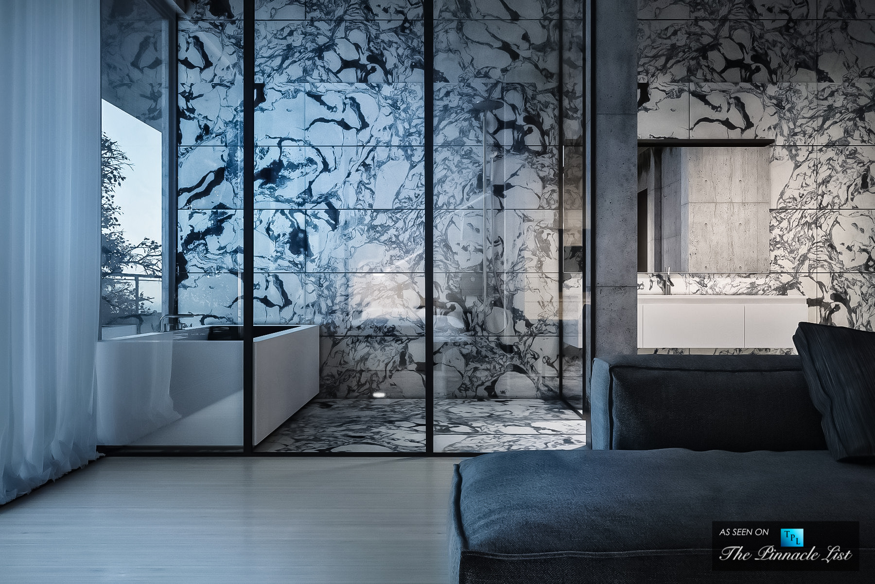 Simply Elegant House at the Lake Interior Design Concept