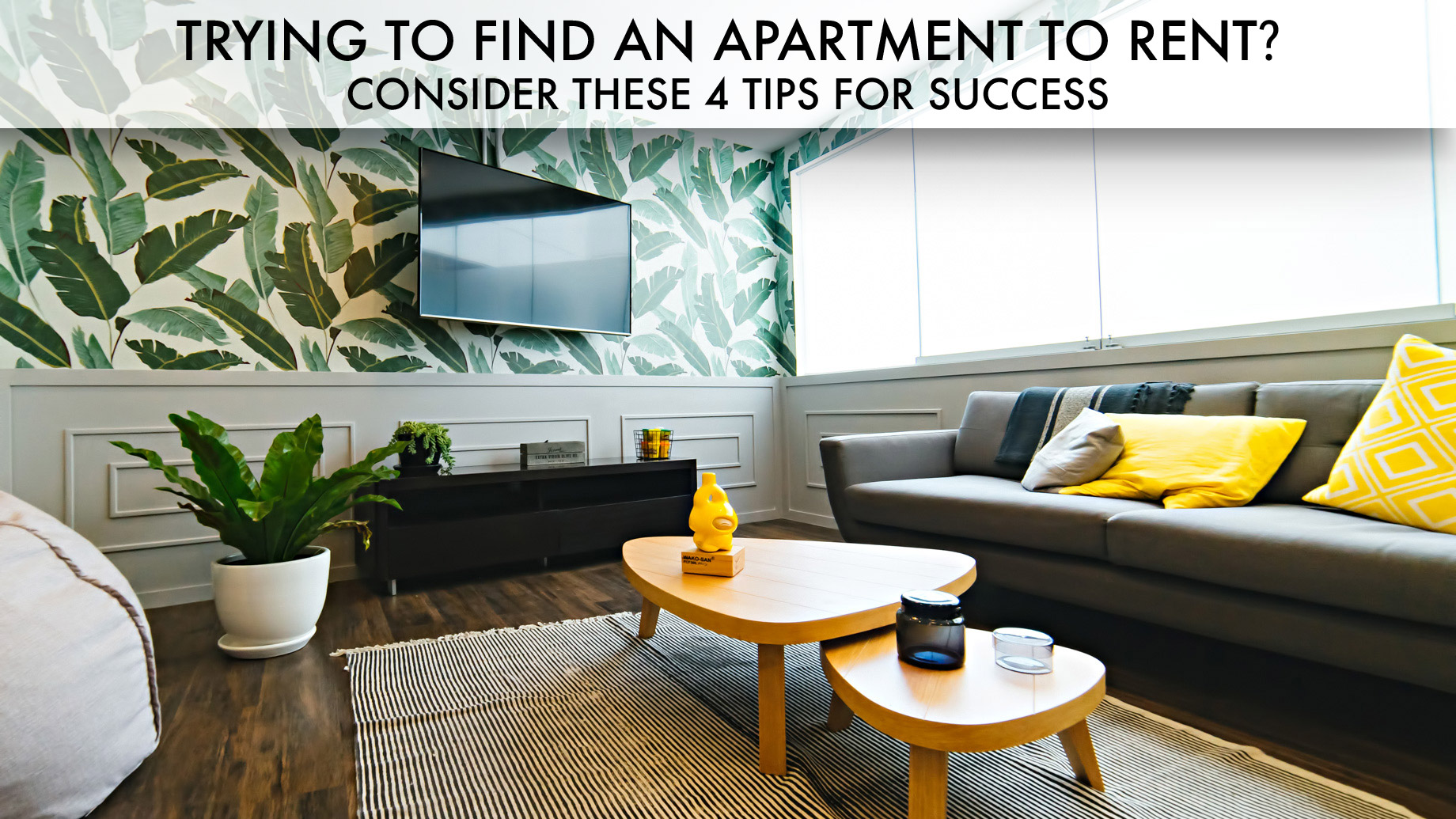 Trying to Find an Apartment to Rent? - Consider These 4 Tips For Success