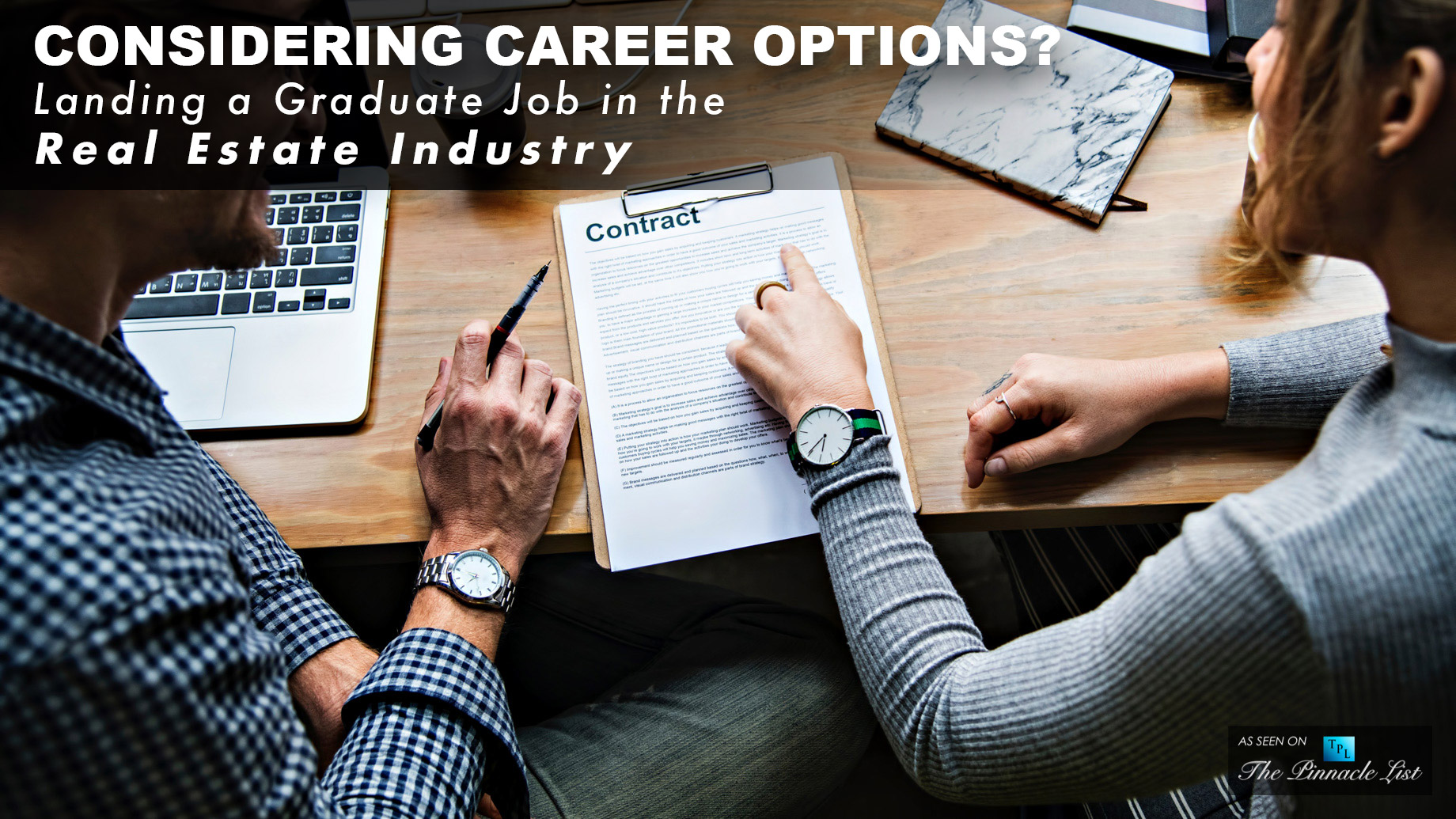 Considering Career Options? - Landing a Graduate Job in the Real Estate Industry