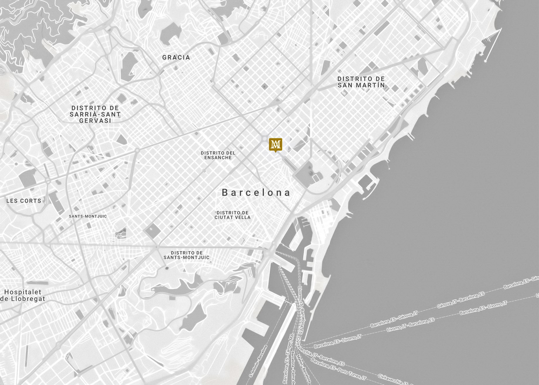 Unique Location in the Center of Barcelona - AM Residences by CBRE in Spain