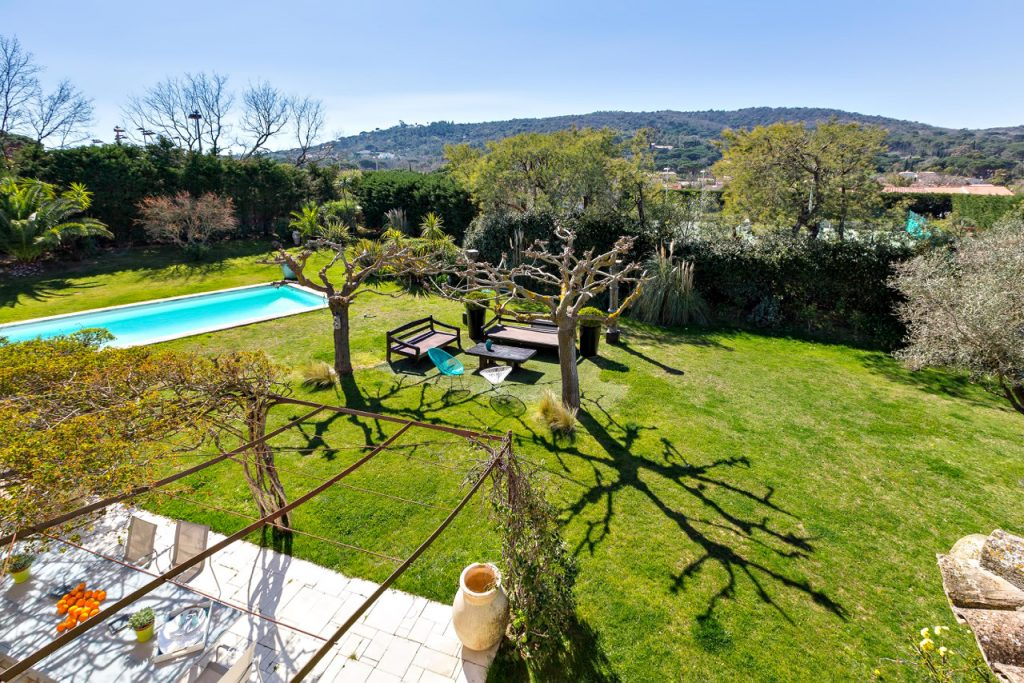 Outdoor Space - Villa Bella on the French Riviera - Inside a Luxury St Tropez Villa Rental