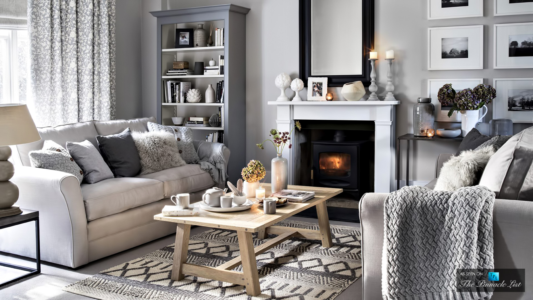 Hygge Interior Home Design - Cozy and Comfortable - Focus on Atmoshere and Feeling