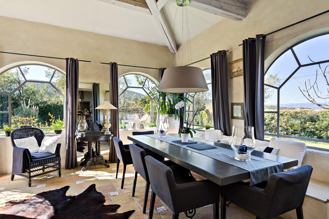 Stylish Decor - Villa Bella on the French Riviera - Inside a Luxury St Tropez Villa Rental