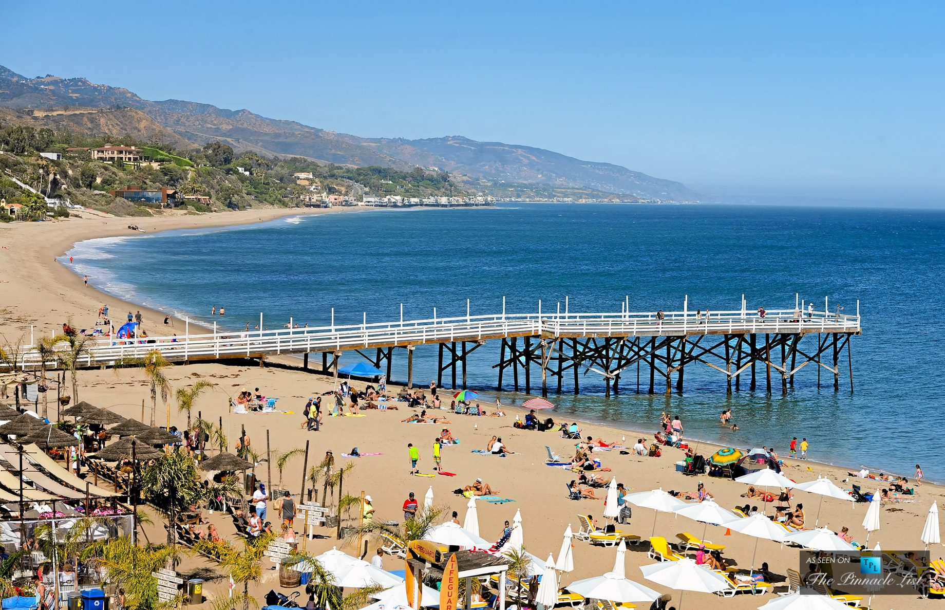 Enjoy the Beach at Paradise Cove Pier - 28128 Pacific Coast Highway Malibu, CA, 90265, USA