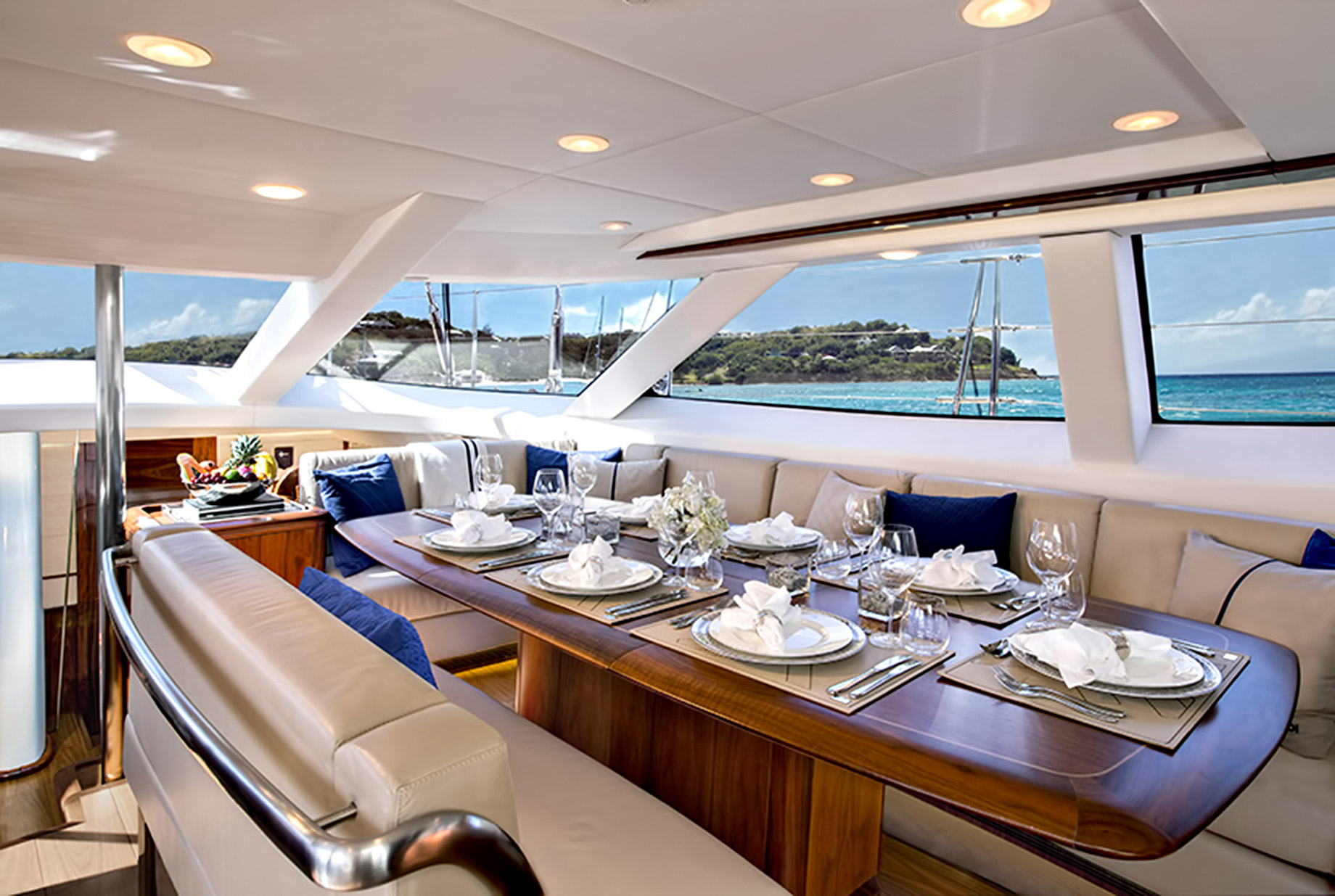 Luxurious Modern Interior - Oyster 100 Penelope - Step Inside A Luxury British Sailing Yacht