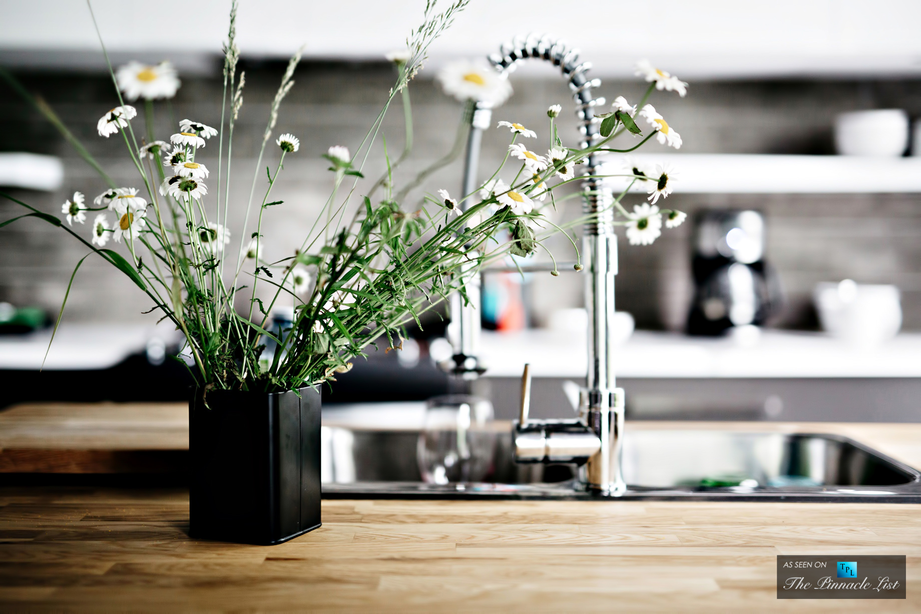 Make Use of Flowers - Home Design and Decor - 5 Tips for Creating a Beautiful Kitchen Space