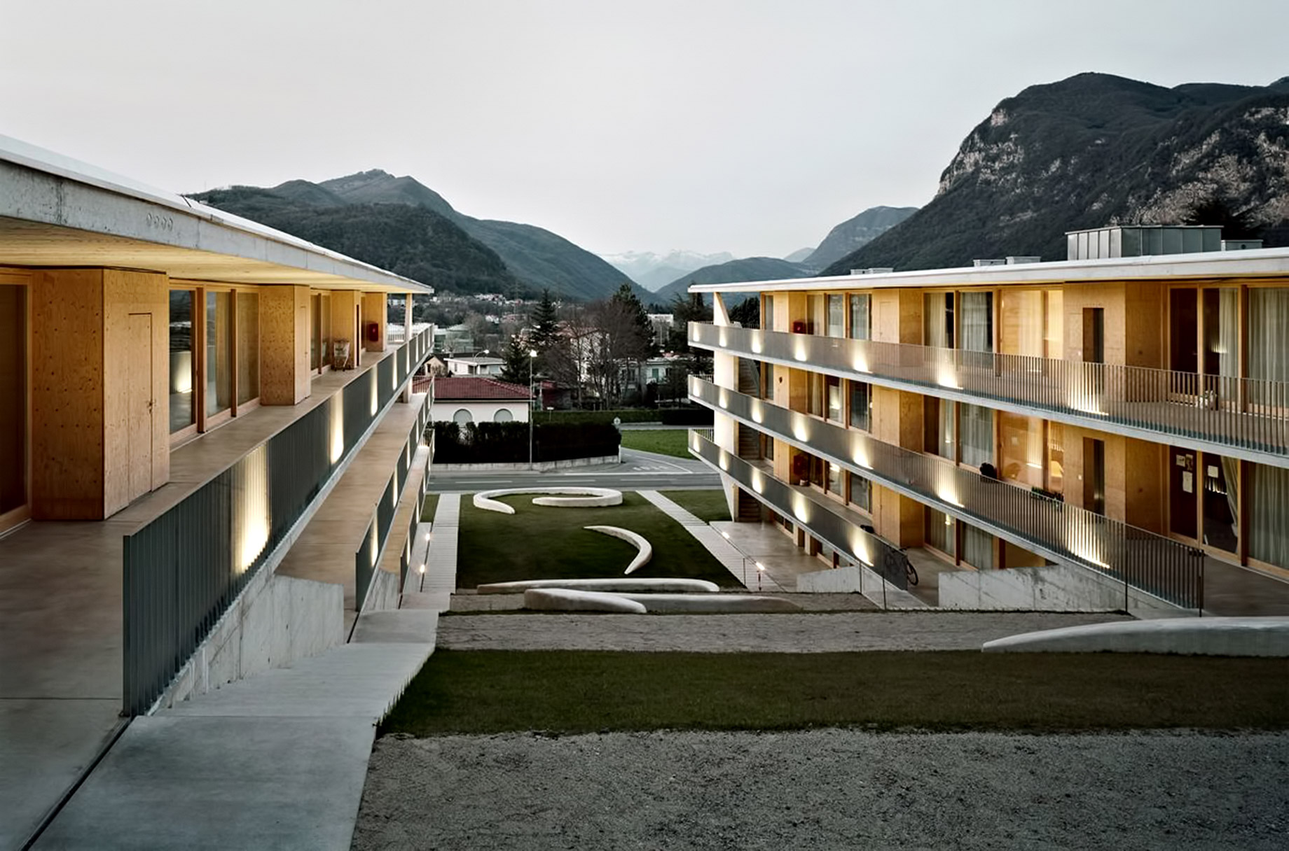 Casa dell'Accademia in Switzerland - Student Housing in the Swiss Alps