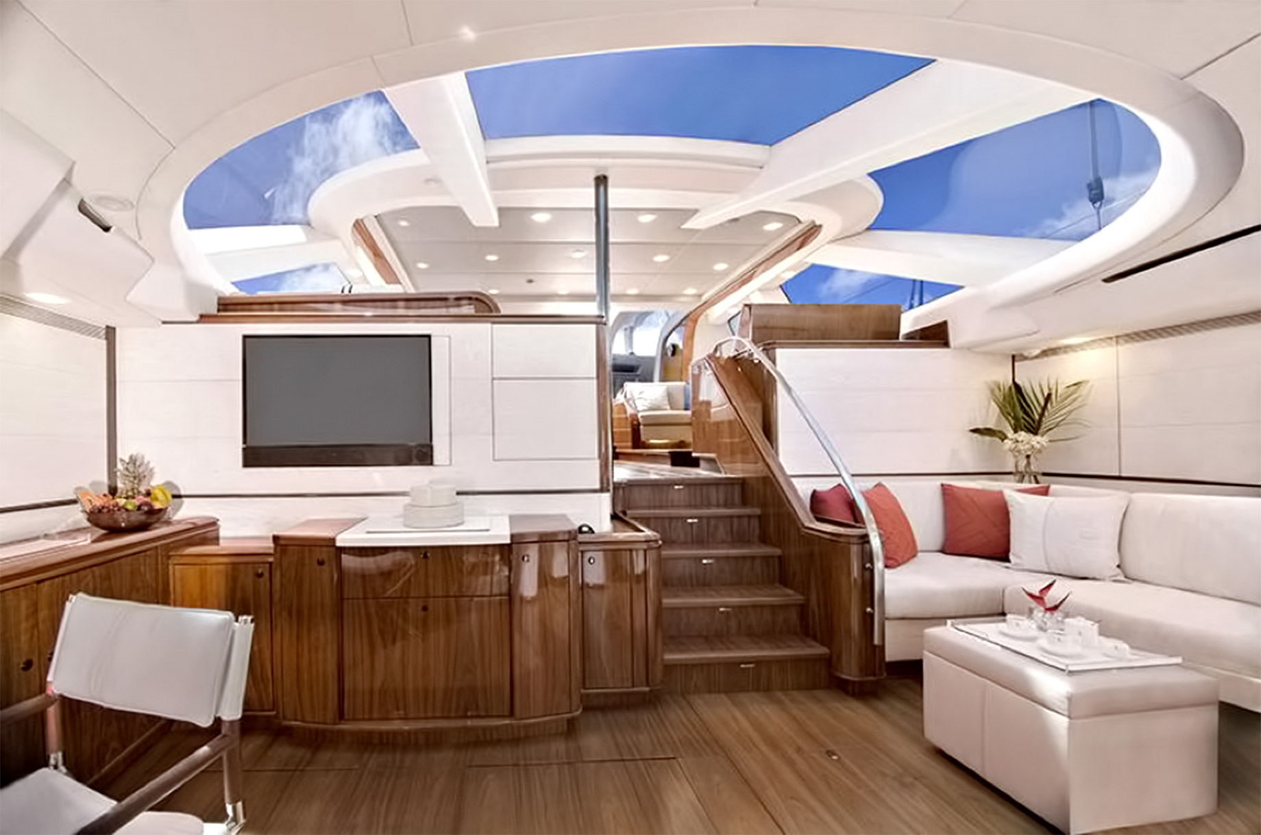 Ultra Generous Accommodation - Oyster 100 Penelope - Step Inside A Luxury British Sailing Yacht
