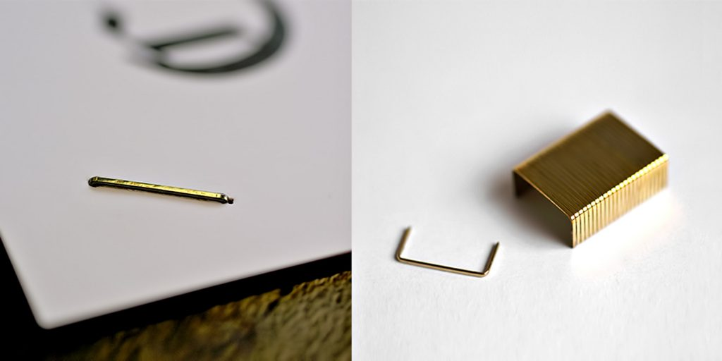14-Carat Gold Plated Staples - Dreaming Big - 6 Luxury Items You Could Purchase if Money Was No Object