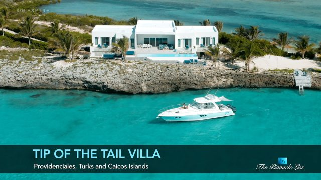 Tip of the Tail Villa - Providenciales, Turks and Caicos Islands - Luxury Beach House - Video