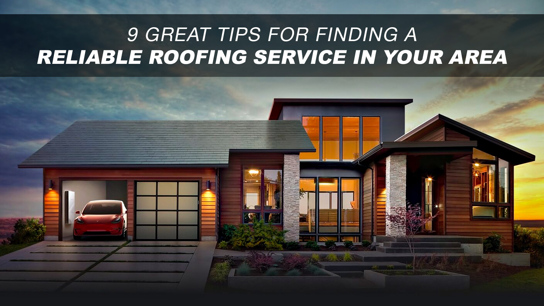 9 Great Tips For Finding A Reliable Roofing Service In Your Area