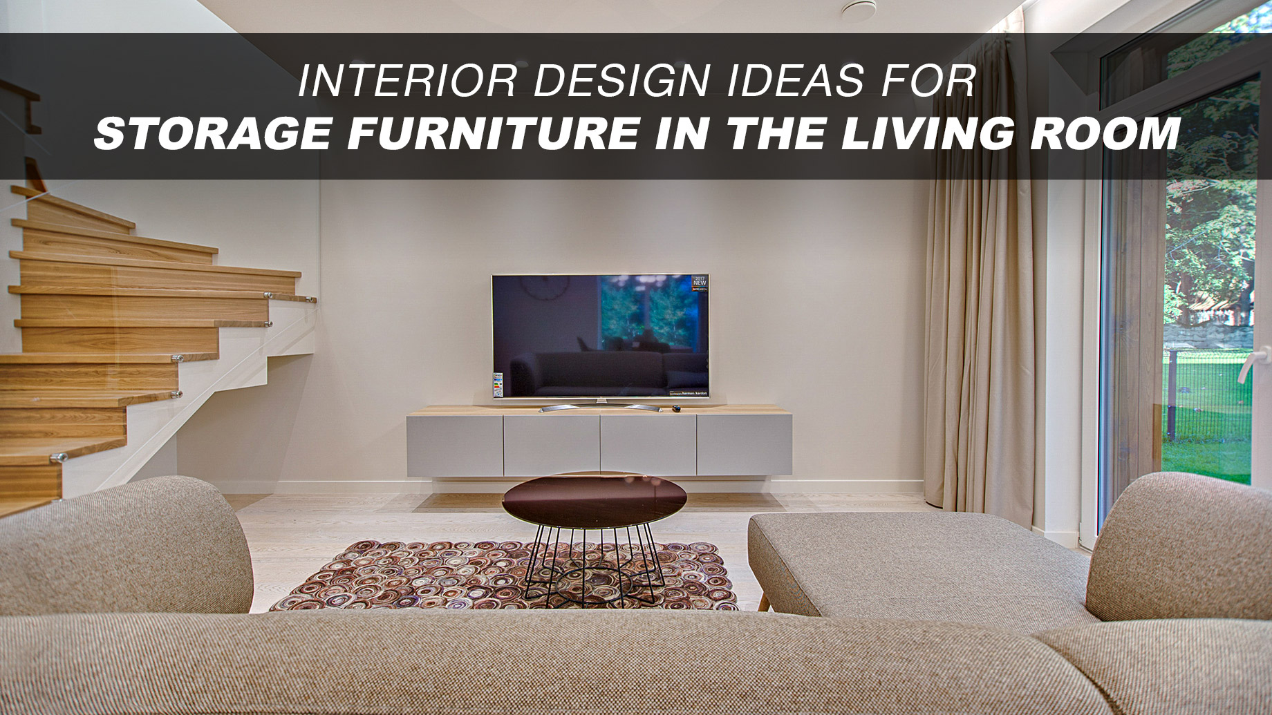 Interior Design Ideas For Storage Furniture In The Living Room