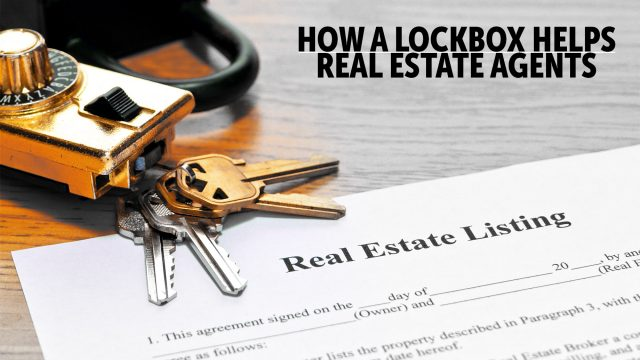 How a Lockbox Helps Real Estate Agents