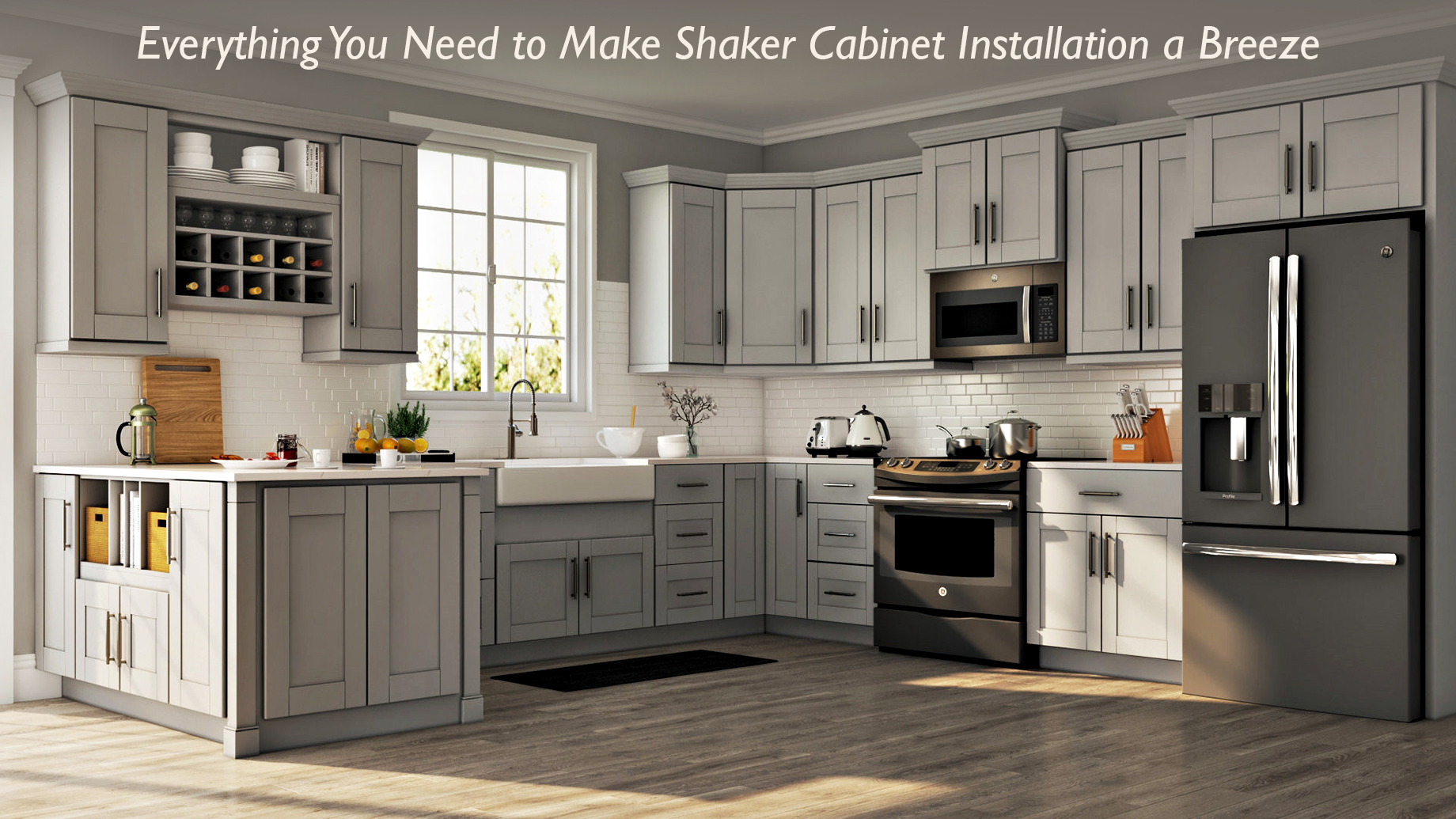Interior Design - Everything You Need to Make Shaker Cabinet Installation a Breeze