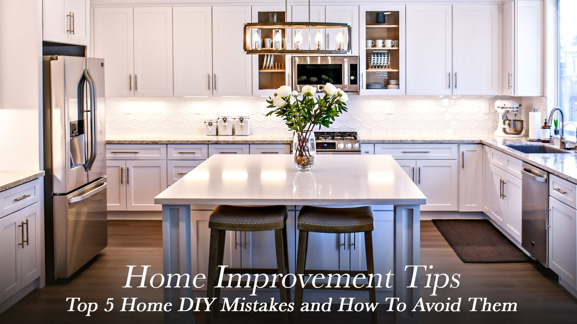 Home Improvement Tips - Top 5 Home DIY Mistakes and How To Avoid Them