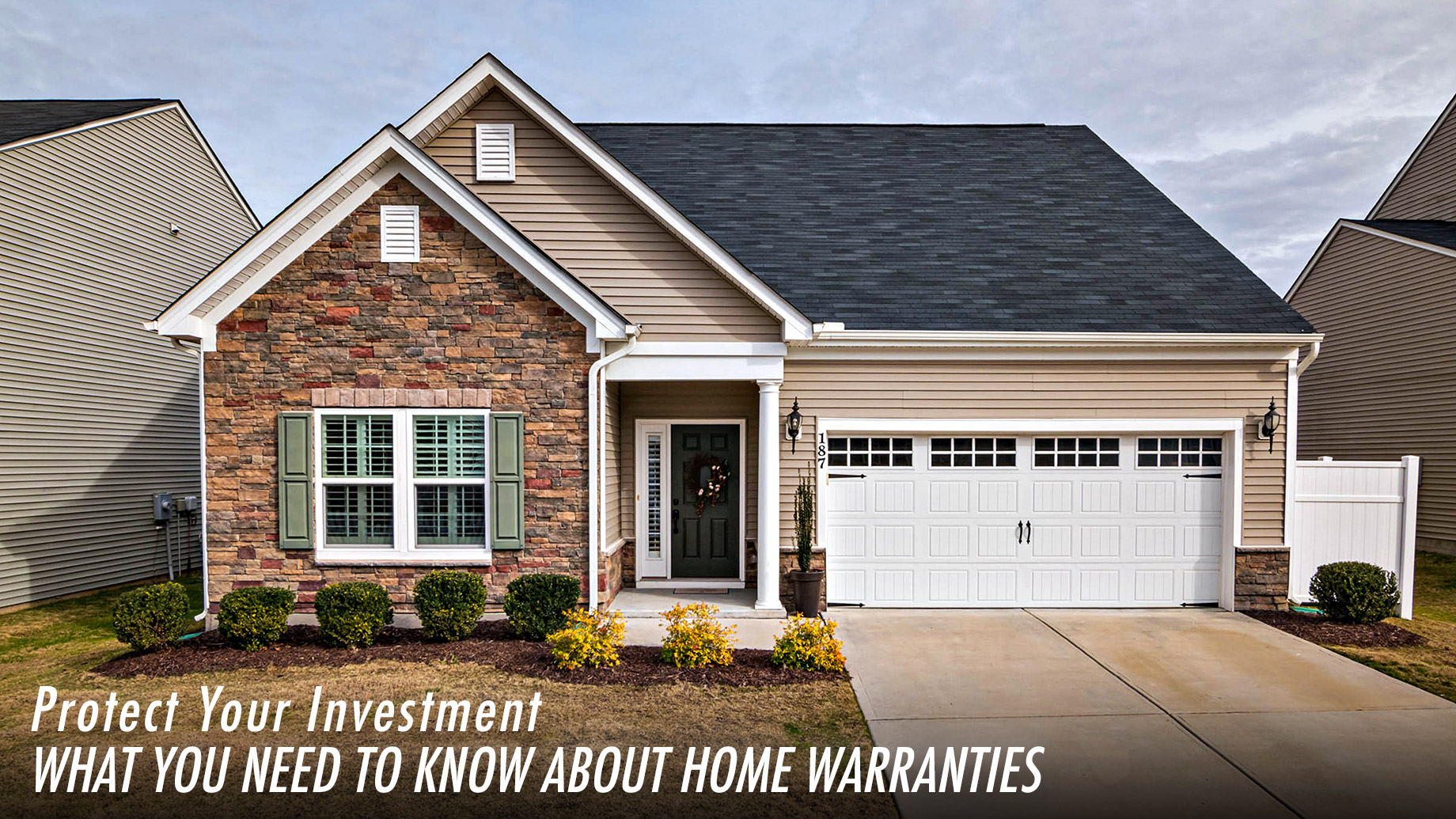 Protect Your Investment - What You Need To Know About Home Warranties