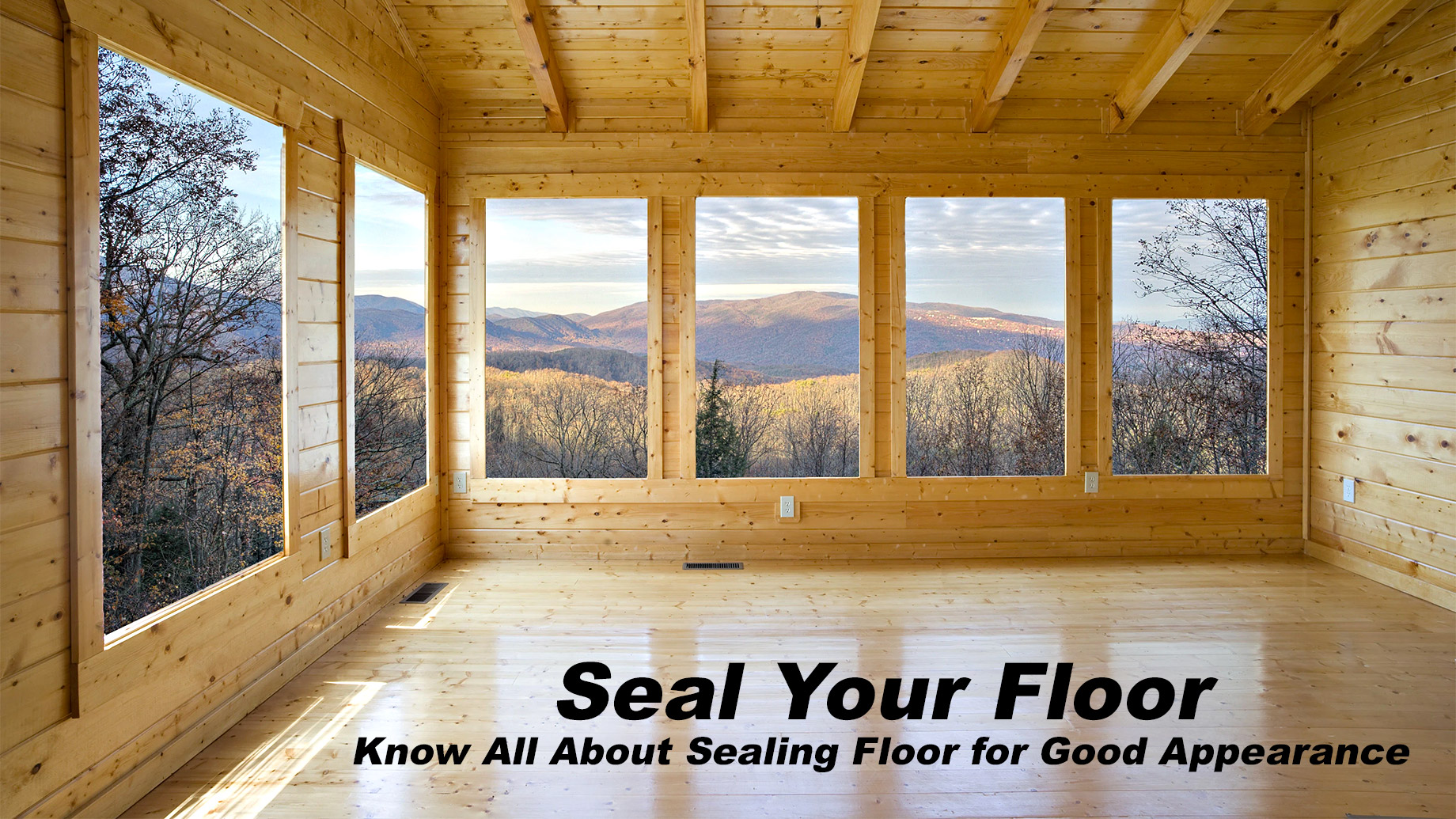 Seal Your Floor - Know All About Sealing Floor for Good Appearance