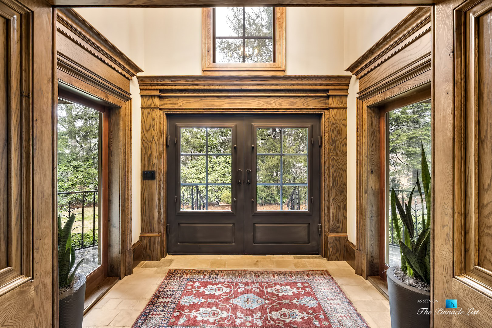 75 Finch Forest Trail, Atlanta, GA, USA – Front Entrance Foyer – Luxury Real Estate – Sandy Springs Home