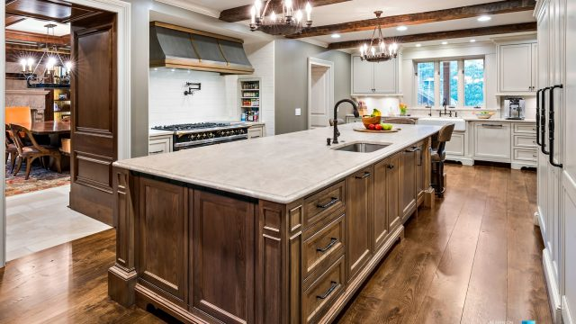 75 Finch Forest Trail, Atlanta, GA, USA - Kitchen and Island - Luxury Real Estate - Sandy Springs Home