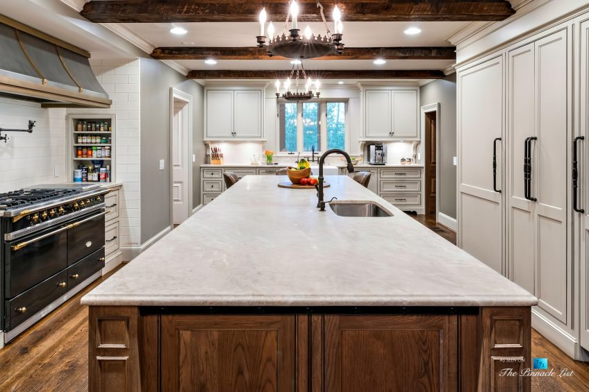 75 Finch Forest Trail, Atlanta, GA, USA - Kitchen Island - Luxury Real Estate - Sandy Springs Home