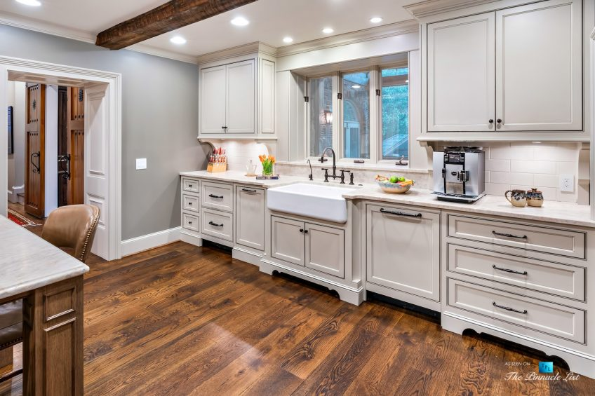 75 Finch Forest Trail, Atlanta, GA, USA - Kitchen Sink and Cabinets - Luxury Real Estate - Sandy Springs Home