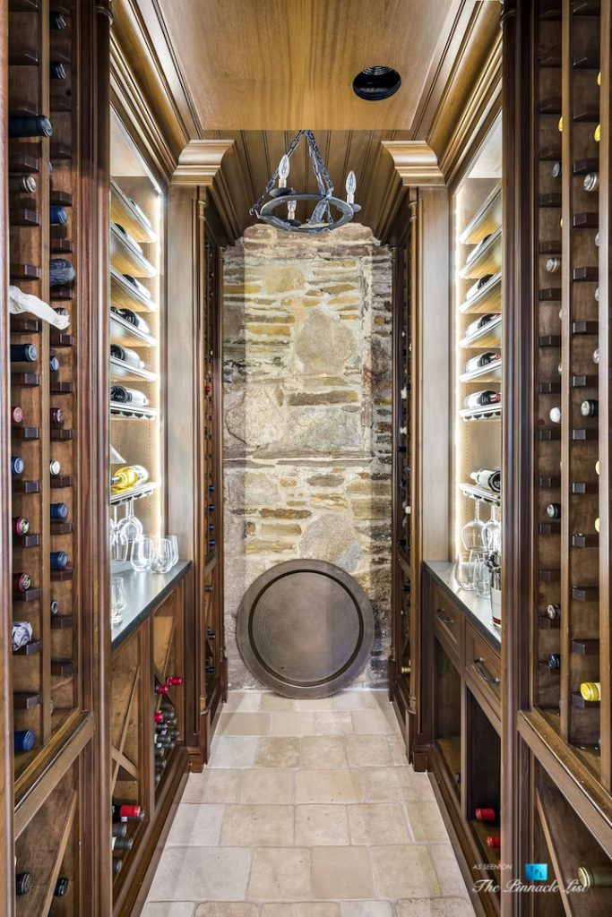 75 Finch Forest Trail, Atlanta, GA, USA - Wine Room - Luxury Real Estate - Sandy Springs Home