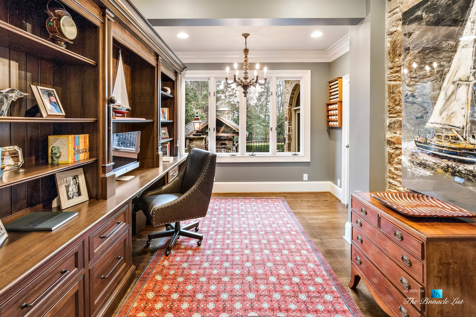 75 Finch Forest Trail, Atlanta, GA, USA – Office – Luxury Real Estate – Sandy Springs Home