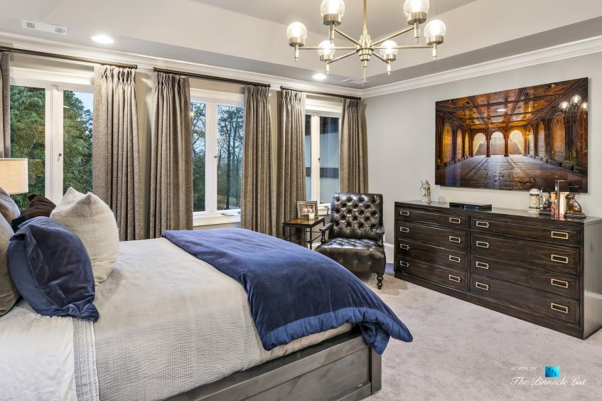 75 Finch Forest Trail, Atlanta, GA, USA - Master Bedroom - Luxury Real Estate - Sandy Springs Home