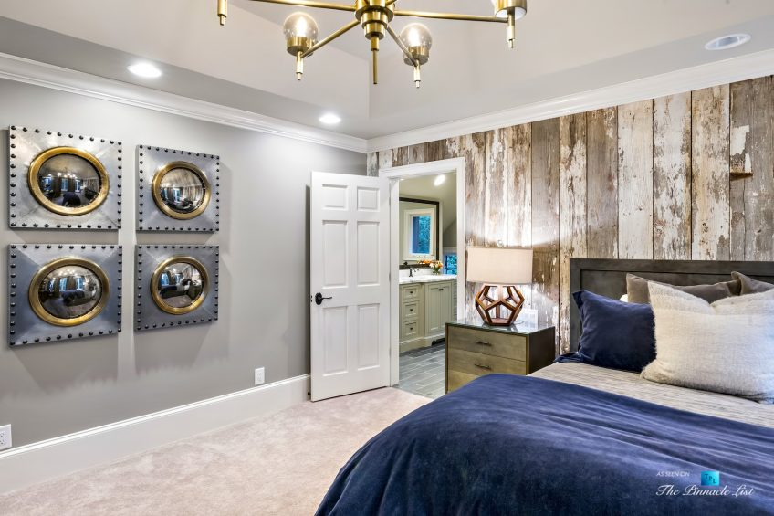 75 Finch Forest Trail, Atlanta, GA, USA - Master Bedroom and Master Bathroom Entry - Luxury Real Estate - Sandy Springs Home