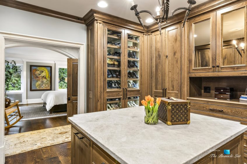 75 Finch Forest Trail, Atlanta, GA, USA - Bedroom Walk In Closet - Luxury Real Estate - Sandy Springs Home