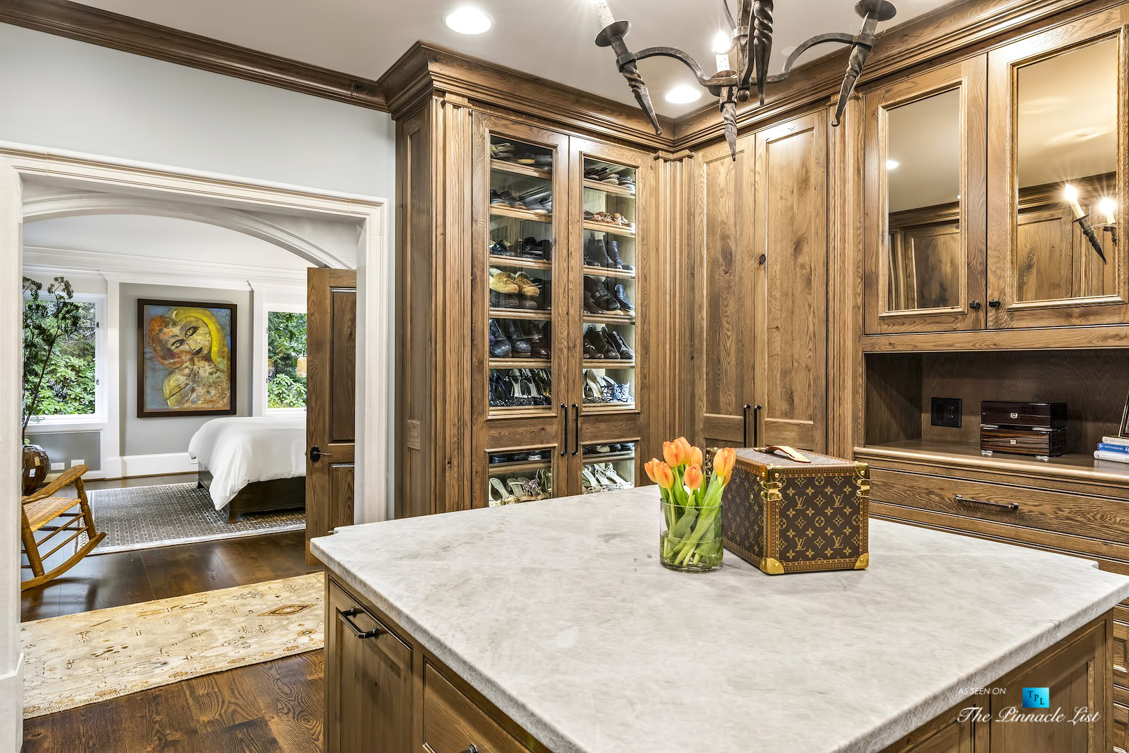 75 Finch Forest Trail, Atlanta, GA, USA - Bedroom Walk In Closet - Luxury Real Estate - Sandy Springs Home